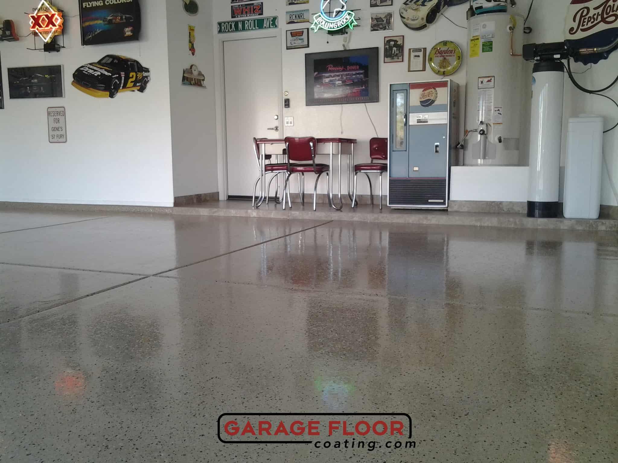 Garage floor coating great lakes garage floor for Great garage floors